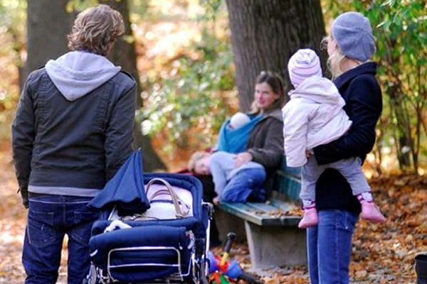 Familienpolitik: Familien, Mütter, Väter, Kinder unterstützen
